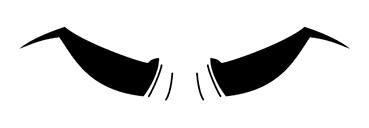 ゴルゴ眉毛1